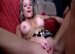 Thick mommy fucked by her aggressive son