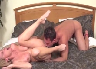 Black thong blonde boned by her hung son