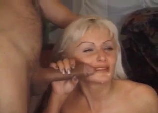 Patchy pussy blonde jackhammered in an incest clip