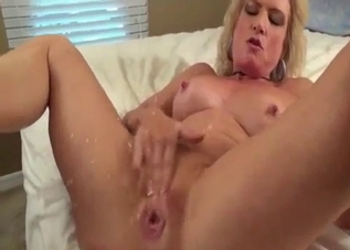 Aggressive mommy begs for more and more