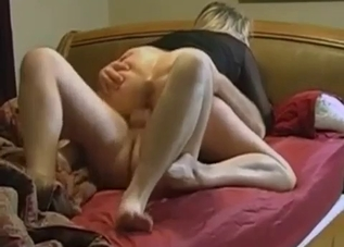 Mommy helps her son cum hard on cam