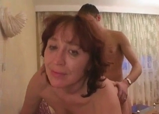 Mommy enjoying hardcore sex with her son